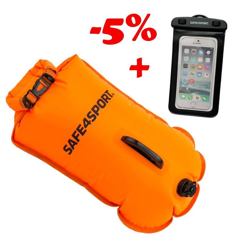 SET 6 MASTERSWIMMER SAFETY BUOY AND WATERPROOF...