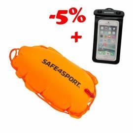Zestaw 4 bojka ClasicSwimmer i etui Safe4sport