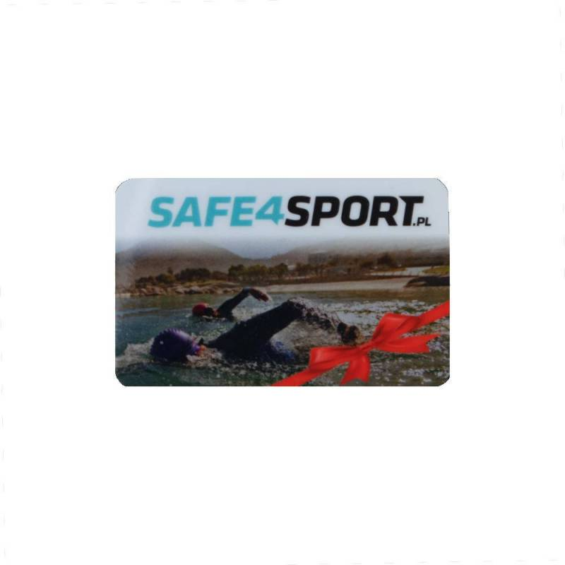 SAFE4SPORT GIFT CARD WITH VALUES OF 200 PLN