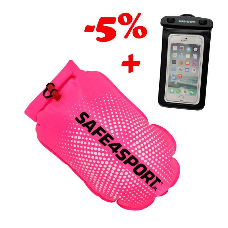 SET 5 PERFECTSWIMMER+PINK SAFETY BUOY AND...
