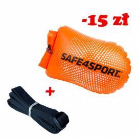 Set 1 PerfectSwimmer safety buoy and long tow rope