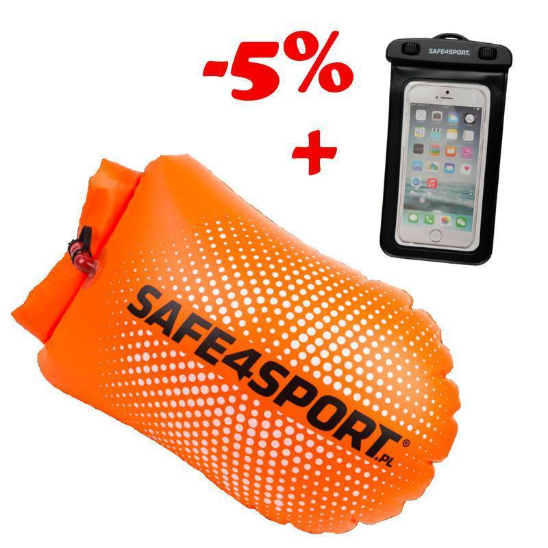 SET 1 PERFECTSWIMMER SAFETY BUOY AND WATERPROOF...
