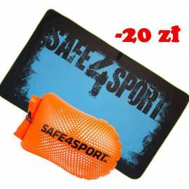 Set 5 PerfectSwimmer safety buoy and a towel