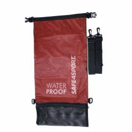 Backpack waterproof mesh bag red