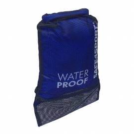 Backpack waterproof mesh blue bag