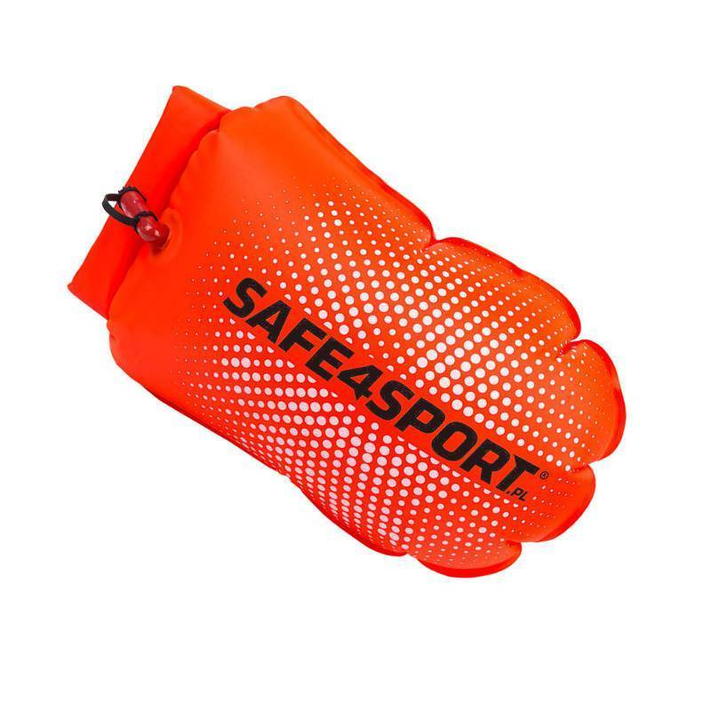 PerfectSwimmer+ inflated safety buoy