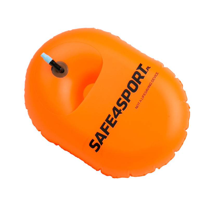 IronSwimmer inflated safety buoy