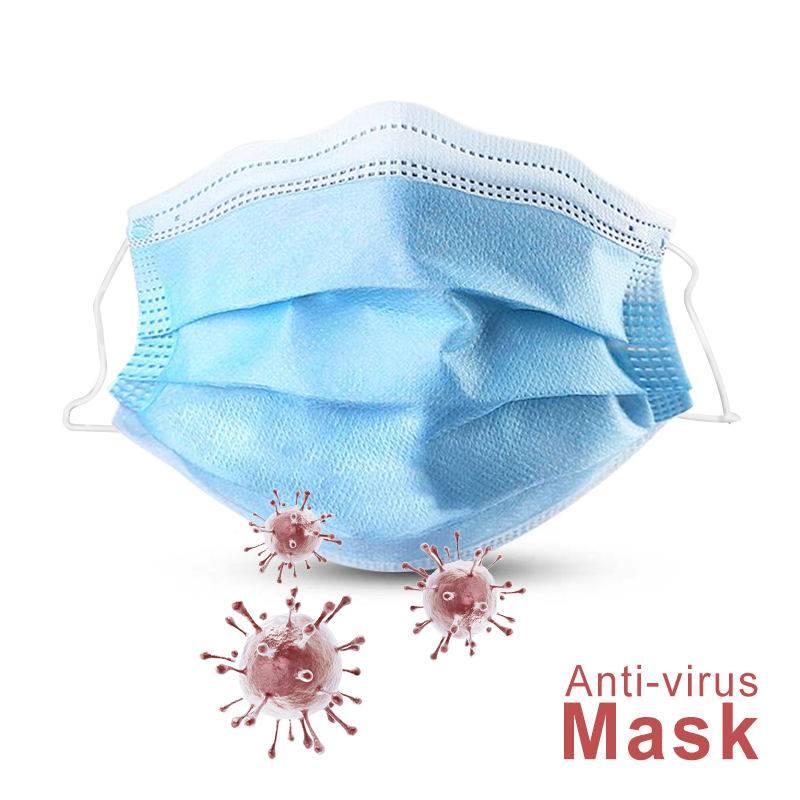 Anti-virus mask - set of 50 pieces