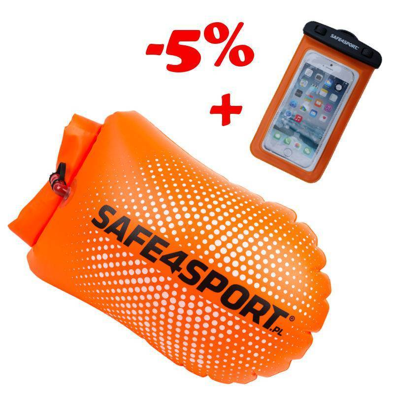 SET 9 PERFECTSWIMMER SAFETY BUOY AND WATERPROOF...