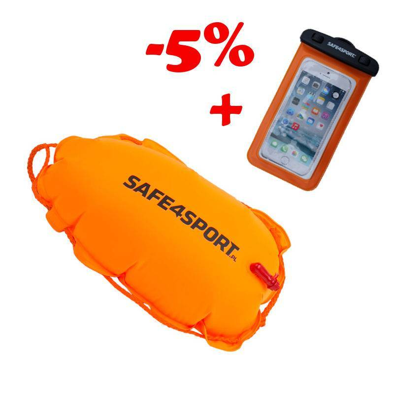 SET 12 CLASICSWIMMER SAFETY BUOY AND WATERPROOF...