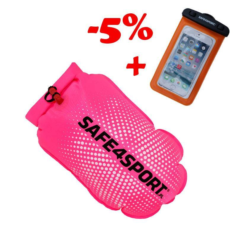 SET 13 PERFECTSWIMMER+PINK SAFETY BUOY AND...