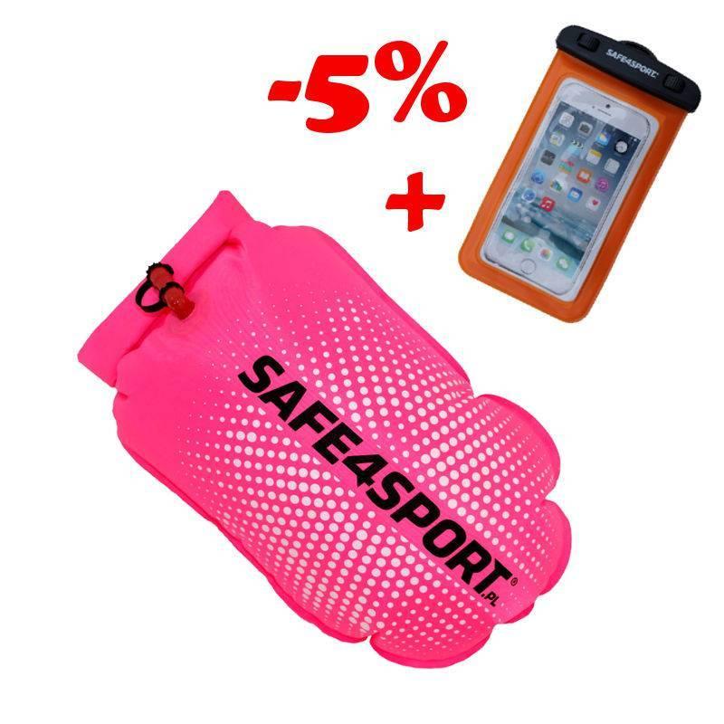 Zestaw 13 bojka PerfectSwimmer+pink i etui...