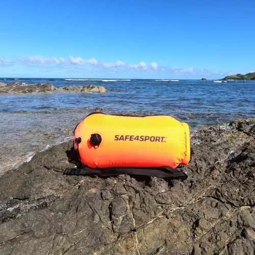bojka asekuracyjna do swimrunu safe4sport runswimmer