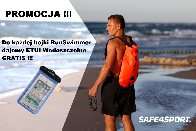 bojka runswimmer + etui wodoszczelne gratis