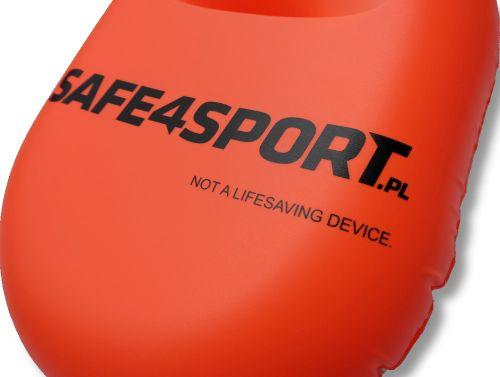 dmuchana bojka asekuracyjna safe4sport ironswimmer