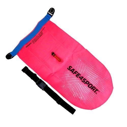 różowa bojka do pływania safe4sport perfectswimmer+ pink