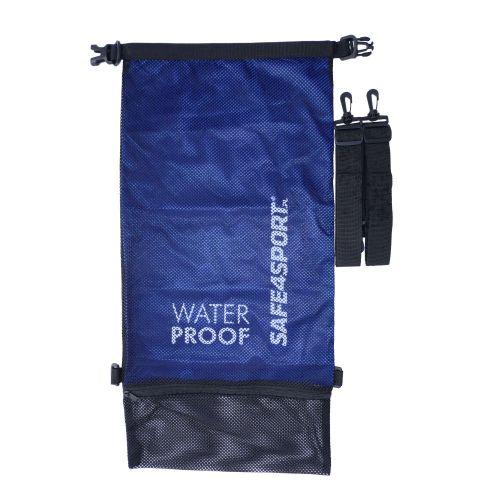 wodoszczelny plecak worek safe4sport treningowy mesh blue
