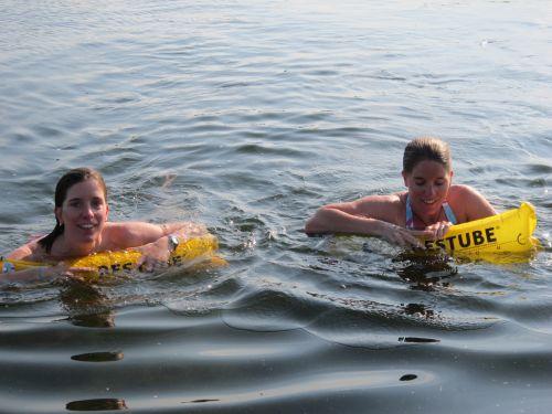 bojka samopompująca restube swim