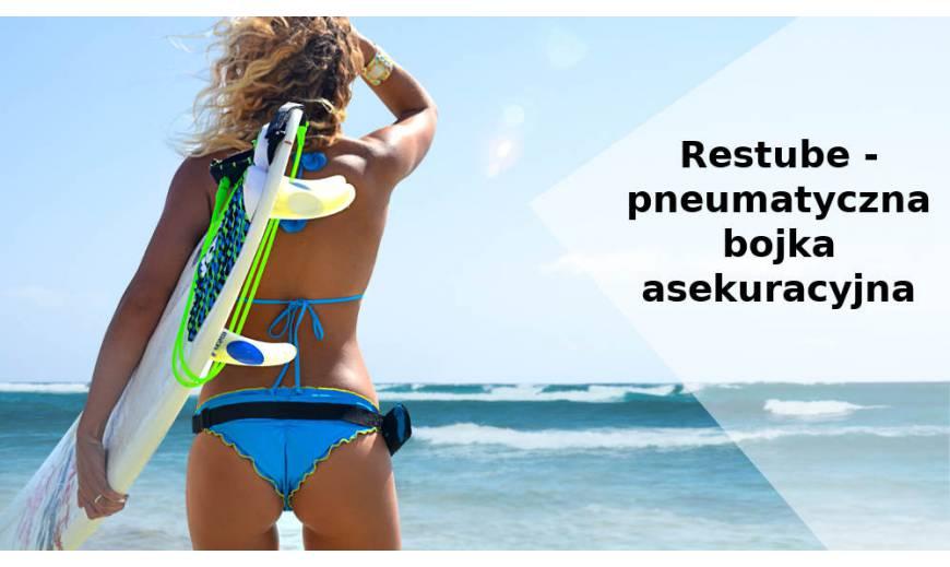 Restube - samopompująca bojka pneumatyczna