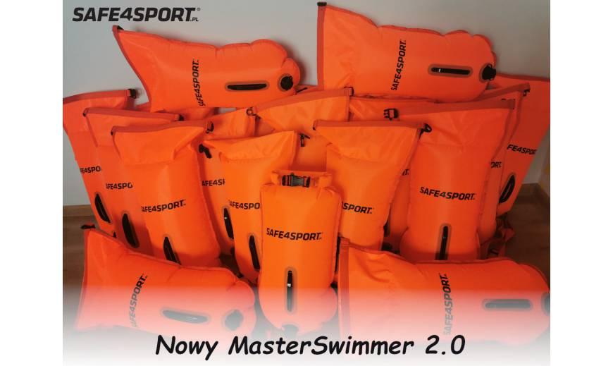 Bojka asekuracyjna MasterSwimmer - najnowsza jeszcze mocniejsza wersja