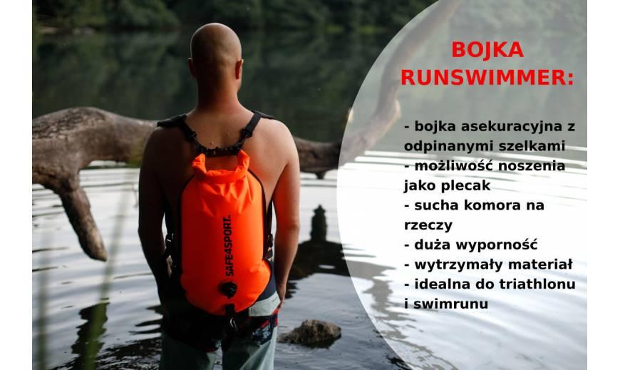 RunSwimmer - bojka asekuracyjna i plecak w jednym