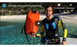 Swimming safety buoy and more - Swimrun test