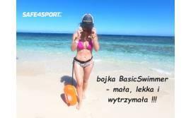 Bojka do pływania BasicSwimmer - jak wytrzymała jest bojka z PVC - test