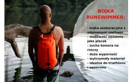 RunSwimmer - a safety buoy and a backpack in one
